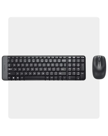 Combo Mouse e Teclado MK220